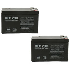 UPG 12V 8Ah F2 Replacement Battery for CyberPower CP1200AVR, CP1200D - 2 Pack
