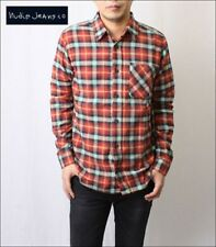 Nudie Jeans 'Marcel' Plaid Flannel Check Shirt BNWT Mens Nudie Size Medium