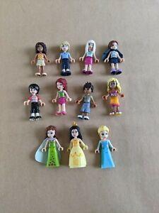 Lego Friends Figure Lot Disney Princess Frozen Elsa Belle Minifigures