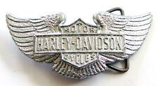 Harley Davidson Motorcycle Wings 1970's Biker Vintage Belt Buckle