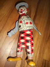 RARE Ferdinand Strauss Tin Litho Toy Windup TOM TWIST THE FUNNY CLOWN #40