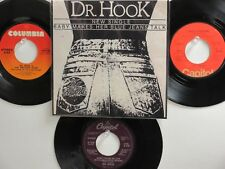 4 DR. HOOK& MEDICINE SHOW HIT 45's+1P(Copy)[Baby Makes Her Jeans Talk]70's&80's!