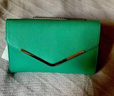 PRIMARK Green Shoulder Chain Clutch Bag USA Seller NWT 💯Auth