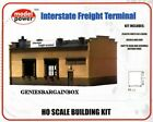 HO Scale Train INTERSTATE FREIGHT TERMINAL Kit Model Power New Sealed 411