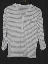 Unbranded Striped Button Down Men's Casual Shirts & Tops