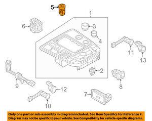 AUDI OEM 12-17 A6 Quattro Ignition Lock-Power Switch 4G1905217A