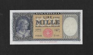 UNC 1000 lire 1948 ITALY