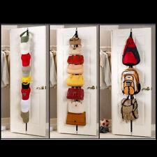 Closet CapRack 8- Baseball Cap Hat  Holder Rack  Organizer Storage  Door  Hanger
