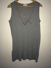 Sussan Grey Nightdress Nighty Sleeveless Polka Dot Size M <R4369z