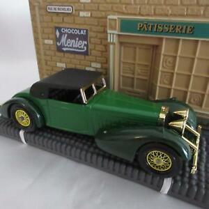 "Matchbox-1938 ""Hispano Suiza"" Menier Chocolat Y17- Original Box/Display Stand"