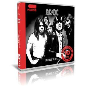 AC/DC - Highway To Hell. Album Backing Tracks MP3 For Singers - Stick USB Listen