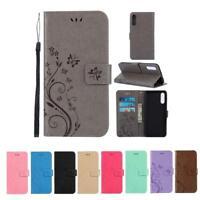 CoverKingz Samsung Galaxy A50 Handyhülle Flipcase Schutzhülle Case Schmetterling