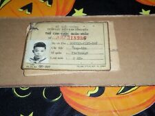 QUAN-LUC Viet Nam CONG-HOA 1971 Naval Sailor ID Card CAN-CUOC QUAN-NHAN LOOK!