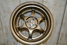 FelgenWerks FW .001 Gloss Bronze 15x8 4-100 [+20mm] Acura Honda VW Scion Mini