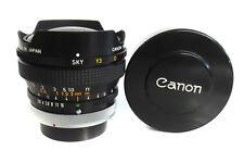 CANON Fish-Eye lens 15mm 2.8 S.S.C. chrom  Analog -  * Fotofachhändler*