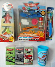 Disney PLANES - Tub Tints Toothbrush Pocket Tissues Tumbler Bathtime Racer Set