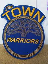NBA Golden State Warriors Logo PATCH (7.5 inches x 7 inches )