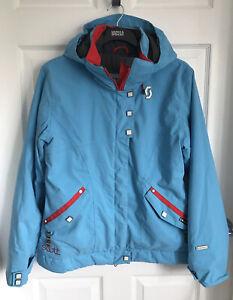Ladies Blue Scott Sports Outerwear Active/Ski/Snow/Outdoor Jacket - Size Medium