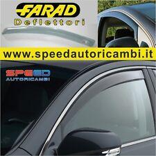 Deflettori Aria AUDI A3 farard Colore fumè  - 3 Porte dal 2003 al 2013 Antiturbo