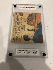 Pride of the Yankees 1949  card Lou Gehrig 7.5 Graded