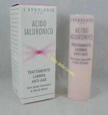 ERBOLARIO Acido Ialuronico Trattamento LABBRA 4,5ml antiage stick lip
