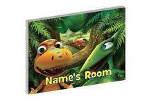 DINOSAUR TRAIN PERSONALISED WOODEN DOOR PLAQUE