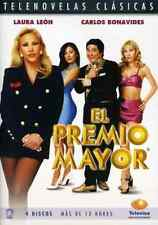 EL PREMIO MAYOR - DVD Spanish Telenovela NEW FACTORY SEALED * 4-Disc Set *
