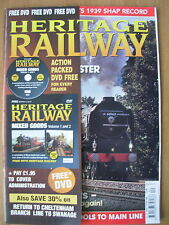 HERITAGE RAILWAY THE COMPLETE STEAM NEWS MAGAZINE ISSUE 130 OCTOBER 29 2009