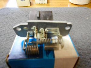 NOS NEW 1981 1982 1983 FORD ESCORT EXP LYNX LN7 A/C BLOWER MOTOR RESISTOR