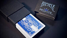 2 Case Decks Red & Blue Bicycle Prestige Poker Playing Cards 100% Plastic New