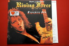 YNGWIE J MALMSTEEN MARCHING OUT HAND SIGNED GERMAN PRESSING LP