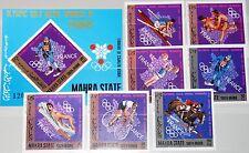 ADEN MAHRA 1968 123-29 B Block 14 B Olympics Olympia French Medal Winner MNH