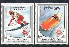 Yemen 1984 Olympic games/Winter Olympics/Sports/Skiing/Bob-sled 2v set  (n37253)