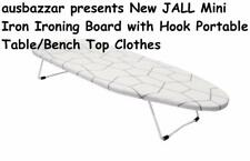 New JALL Mini Iron Ironing Board with Hook Portable Table/Bench Top Clothes