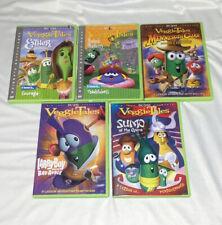 VeggieTales DVD Lot Of 5 Movies