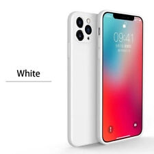 New Liquid Silicone Case For iPhone 11/Pro/pro XS XR SE 7/8 Max shockproof Cover