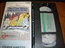 The Care Bears Battle the Freeze Machine VHS Family Home Entertainment