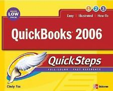 Quick Steps: QuickBooks 2006 : Financial Software for Small Business by Cindy...