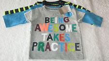 Next Boys' Cotton Blend T-Shirts & Tops (0-24 Months)