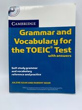Grammar and Vocabulary for the TOEIC Test with answers Cambridge Gear TBE