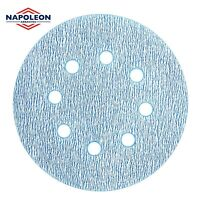 125mm 5inch Sanding Discs Film Pads Orbital Sandpaper for Hard Wood Paints etc.