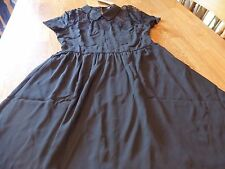 """NWT! """"SPEECHLESS"""" LADIES S/S BLACK LACE ACCENT DRESS SIZE S  $48."""