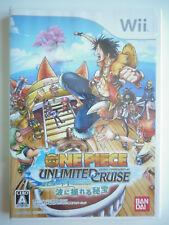 One Piece Unlimited Cruise Jeu Vidéo Nintendo Wii