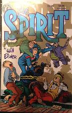 The Spirit #36 VF Nm- 1st Estampado Kitchen Sink Comics