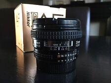 Nikon 20mm f/2.8 Obiettivo AF D