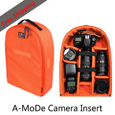 Camera bag Lens Insert Backpack Partition Padded DSLR Bag Case Free Shipping F