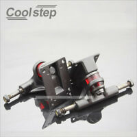 "2pcs COOLSTEP 3.25"" Skateboard Truck Cruiser Retro Mini Fish Plate Board Trucks"