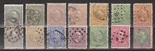 Nederlands Indie Netherlands Indies 3-16 used Willem III ; NOW MANY NICE CANCELS