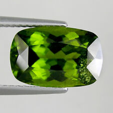 5.46 cts  ULTRA RARE OLIVE GREEN  NATURAL IDOCRASE _ CUSHION _  2516