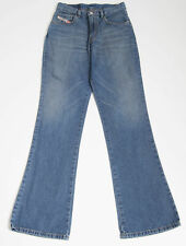 WOMENS SIZE S SMALL DIESEL INDUSTRY DENIM JEANS PANTS STONE WASHED BLUE VGC